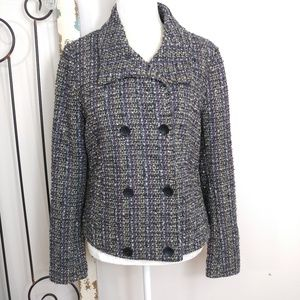 Gap gray multi color peacoat medium
